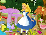 Play Alice In Wonderland Cleaning