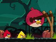 Play Angry Birds Halloween Hd