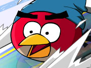 Play Angry Birds Skiing