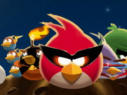 Play Angry Birds Space Bike