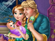 Play Anna and Kristoff Baby Feeding