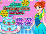 Play Anna Birthday Cake Contest