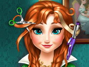 Play Anna Frozen Real Haircuts