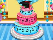 Play Anna Graduatioon Cake Contest