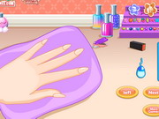 Play Anna Princess Nail Design