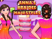 Play Anna's Braided Hairstyles