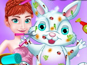 Play Anna's Easter Bunny Care