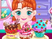 Play Anna Tasty Cupcake
