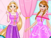 Play Anna vs Rapunzel Beauty Contest