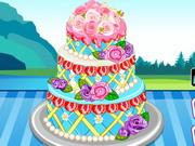 Play Anna Wedding Cake Contest