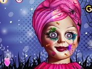 Play Annabelle Spooky Halloween Makeover