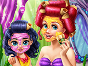 Play Ariel Mommy Real Makeover