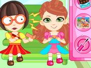 Play Ashlynn Ella School Bus Slacking