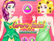 Play Aurora Facial Makeover