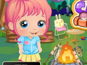Play Baby Alice Goes Camping