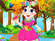 Play Baby Anna Forest Adventure