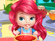 Play Baby Ariel Cheesecake Factory