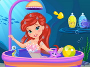 Play Baby Ariel Shower Fun