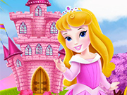 Play Baby Aurora Castle Decoration