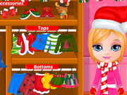 Play Baby Barbie Christmas Prep
