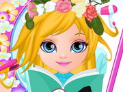 Play Baby Barbie Flower Braids