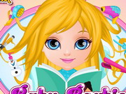 Play Baby Barbie Frozen Hair Salon