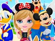 Play Baby Barbie Goes To Disneyland