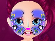 Play Baby Barbie Hobbies Face Painting