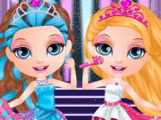Play Baby Barbie In Rock 'N Royals