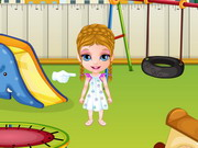 Play Baby Barbie Playtime Accident