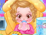 Play Baby Caring Games With Anna