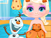 Play Baby Elsa First Thanksgiving