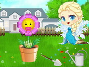 Play Baby ELsa Flower Care