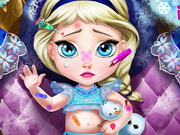Play Baby Elsa Injured
