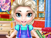 Play Baby Elsa School Prep