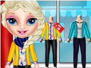 Play Baby Elsa Winter Shopping Spree