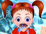 Play Baby Emma winter throat problem