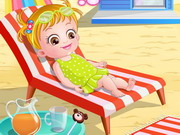Play Baby Hazel At Beach