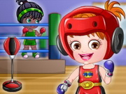 Play Baby Hazel Boxer Dressup