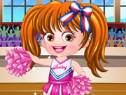 Play Baby Hazel Cheerleader Dressup