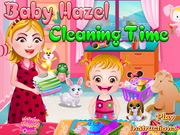 Play Baby Hazel Cleaning Time