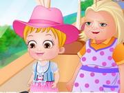 Play Baby Hazel Granny House