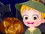 Play Baby Hazel Halloween Night