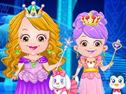 Play Baby Hazel Ice Princess Dressup