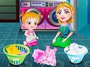 Play Baby Hazel Laundry Time