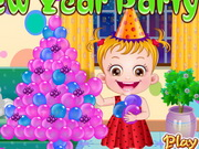 Play Baby Hazel New Year Party