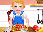 Play Baby Juliet Cooking Pizza