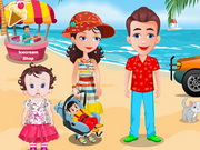 Play Baby Lisi Beach Party