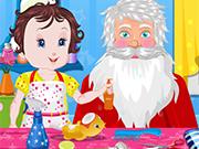 Play Baby Lisi Santa Claus
