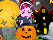 Play Baby Monster Halloween Pumpkin